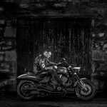 Motorcycle Photography - Victory Hammer at Dalmore Distillery